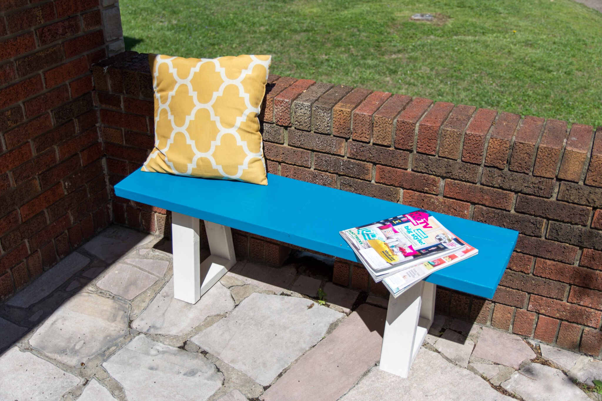 c42d485eef2 DIY Modern Benches - A Little Craft In Your Day