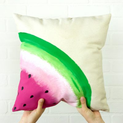 DIY Watermelon Pillow thumbnail