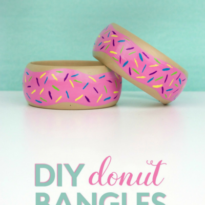 DIY Painted Donut Bangles thumbnail
