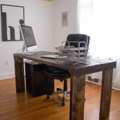 DIY Home Office Transformation thumbnail