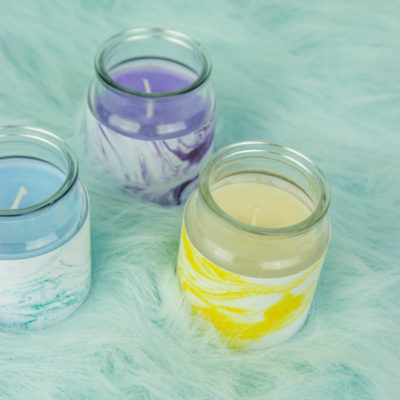 DIY Marble Candles- Urban Outfitters Inspired thumbnail