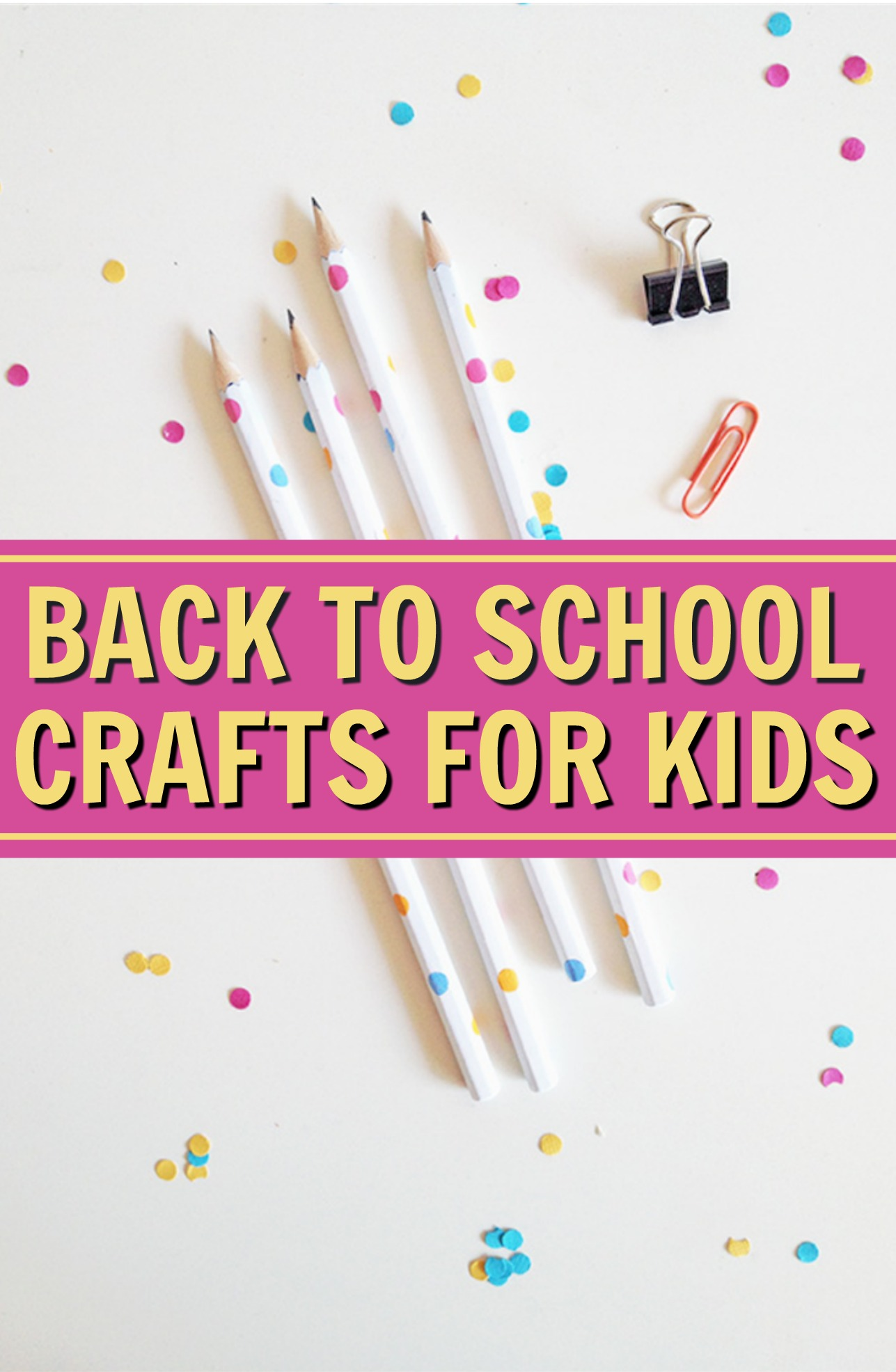 Back To School Craft Ideas For Kids
