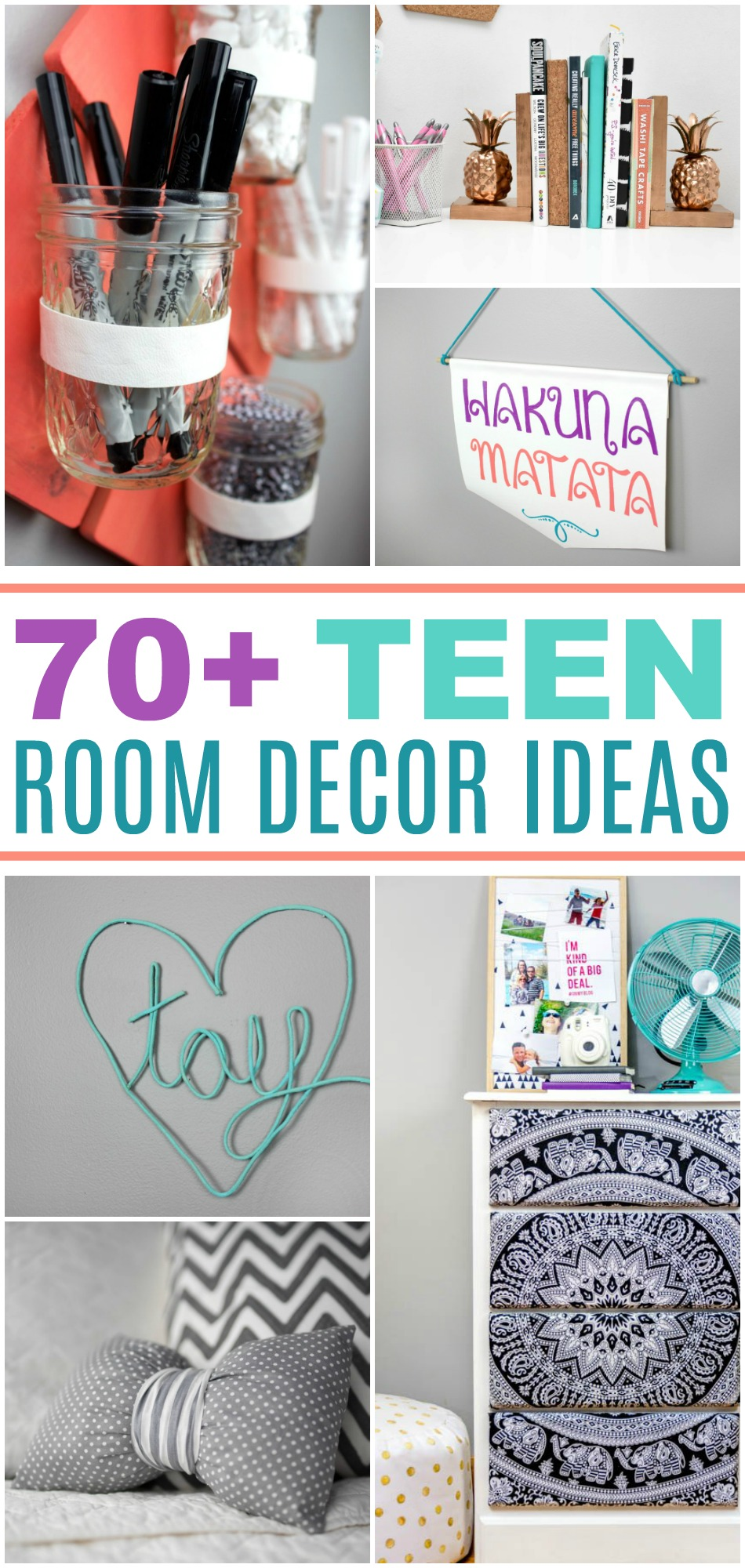 70+ DIY Room Decor Ideas For Teens on Room Decor For Teens  id=52731