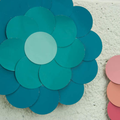DIY Paint Chip Wall Art thumbnail