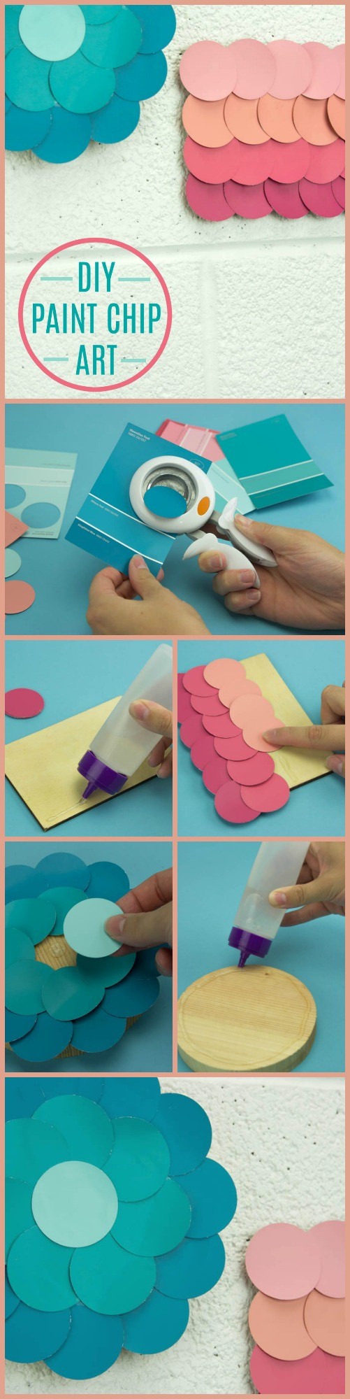 diy paint chip art, diy paint chip ides, paint chip craft, paint chip craft ideas, diy paint chip craft ideas
