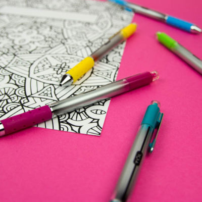 Coloring Book Binder Covers- Free Printable thumbnail