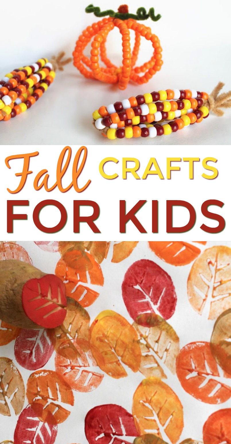 Fall crafts for kids a little craft in your day for Crafts for little kids