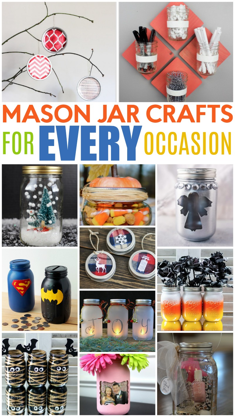 Mason Jar Crafts For Every Occasion