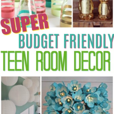 Super Budget Friendly Teen Room Decor Ideas thumbnail
