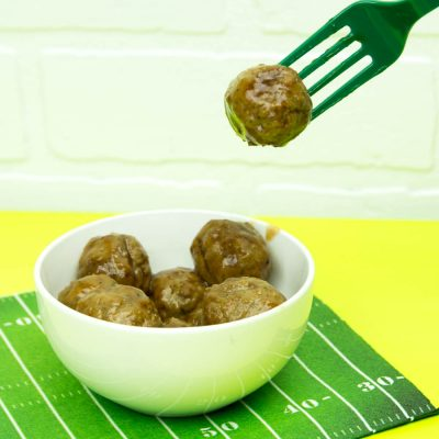 Sweet BBQ Slow Cooker Meatballs thumbnail