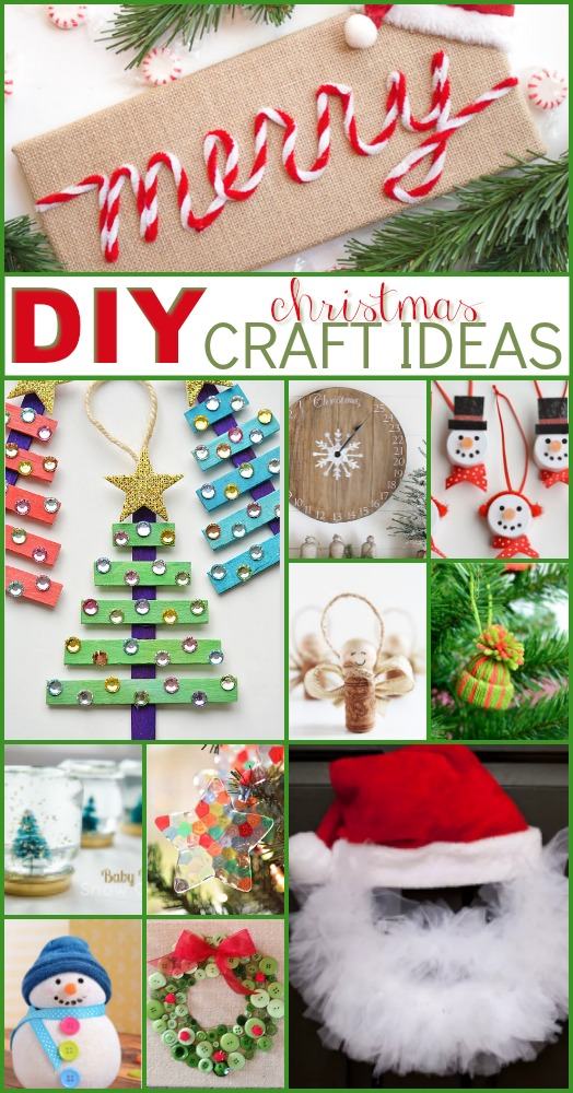 Great Christmas Craft Ideas Part - 45: ... With All The Wonderful Ideas We Have For You In This List. Making Holiday  Crafts Is A Great Way To Get You And The Whole Family In The Holiday Spirit.