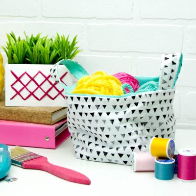 Cricut Maker Sewing Project: How to sew a Small Basket thumbnail