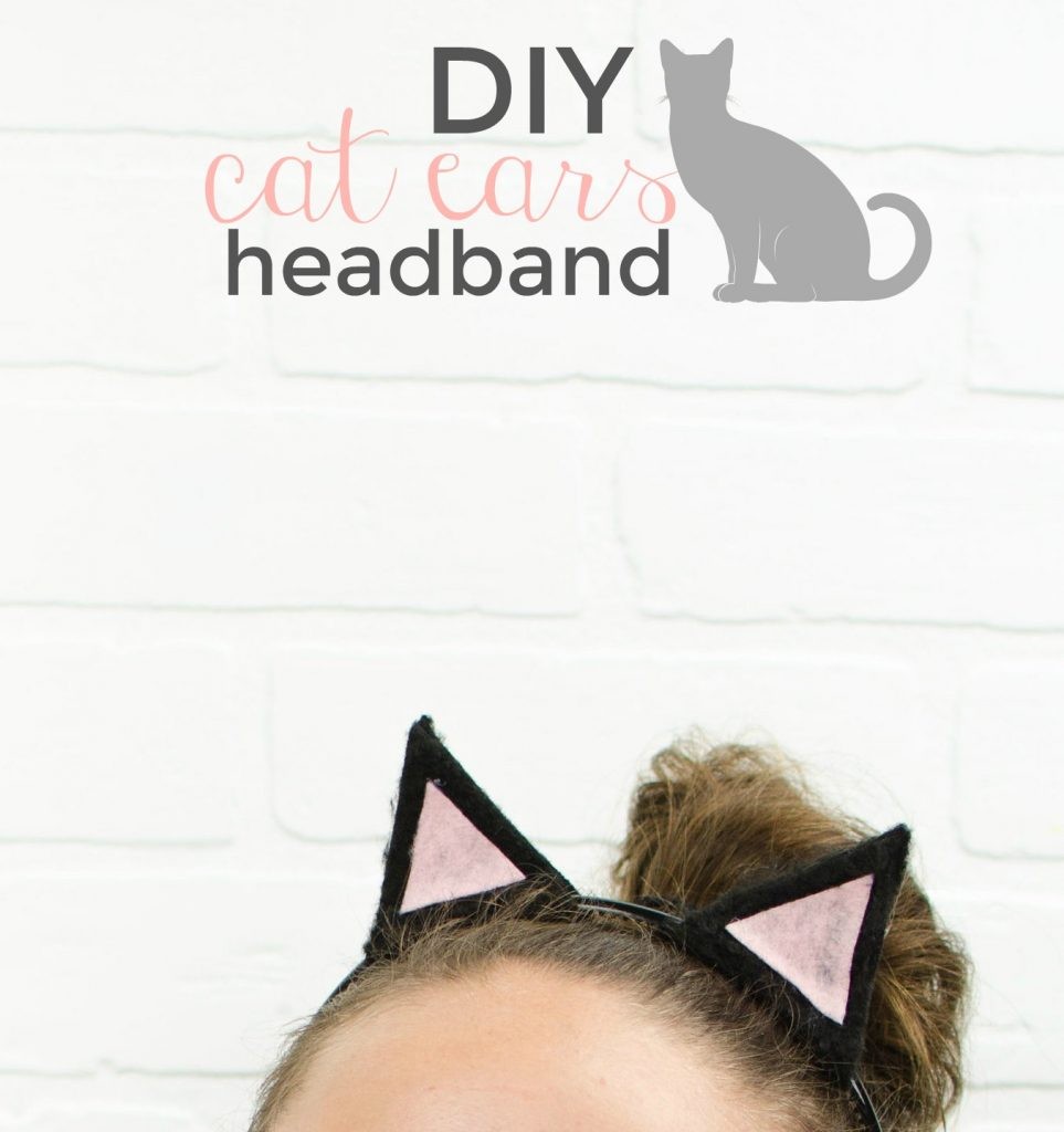 last minute diy halloween costume idea diy halloween costume diy cat ears diy  sc 1 st  A Little Craft In Your Day & DIY Cat Ears- Last Minute Halloween Costume Idea - A Little Craft In ...