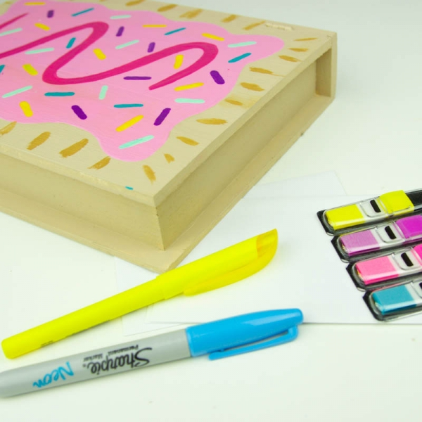 DIY Teen Craft Idea - Pop Tart Box