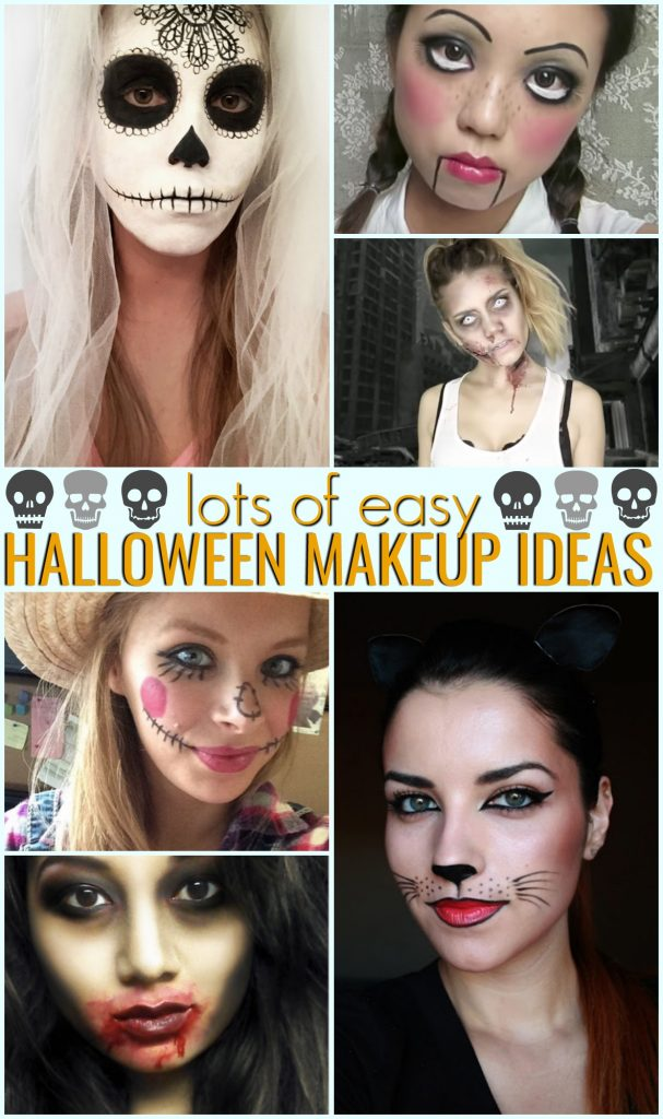 easy halloween makeup halloween makeup ideas diy halloween makeup easy halloween makeup tutorials