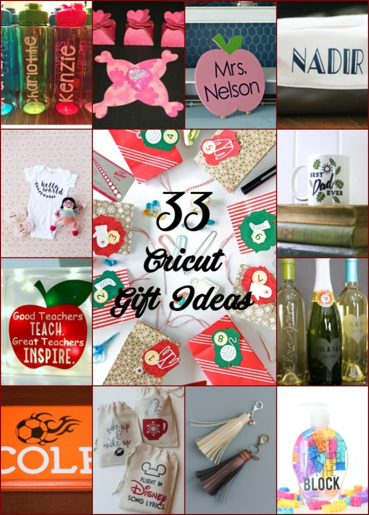 33 Cricut Gift Ideas - A Little Craft In Your Day