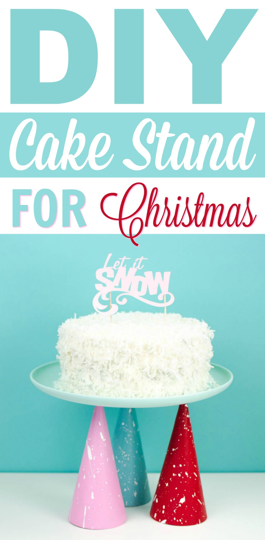 11 30 Diy Cake Stand For Christmas