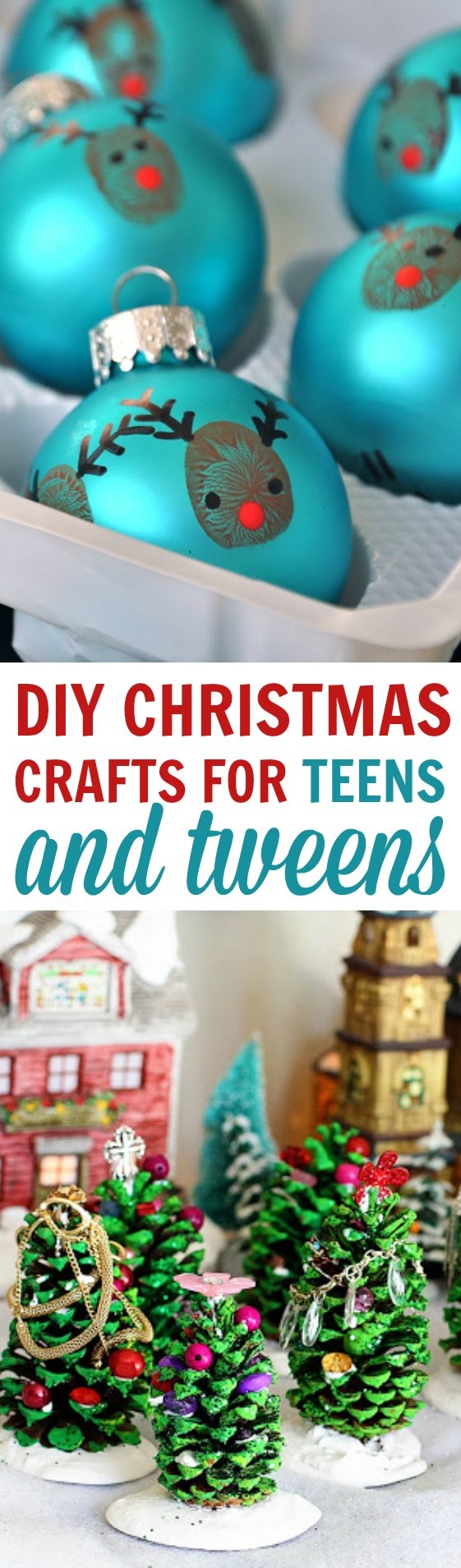 DIY Christmas Crafts For Teens and Tweens - A Little Craft In Your Day