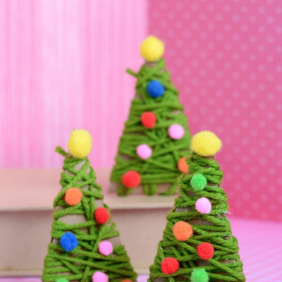 DIY Christmas Ornament Crafts for Kids thumbnail