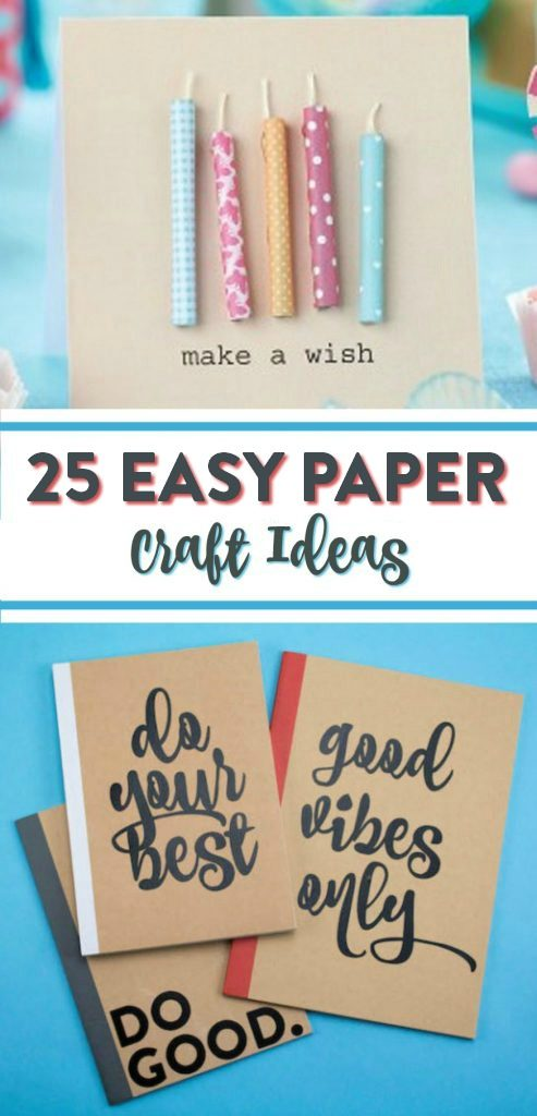25 Easy Paper Craft Ideas A Little Craft In Your Day
