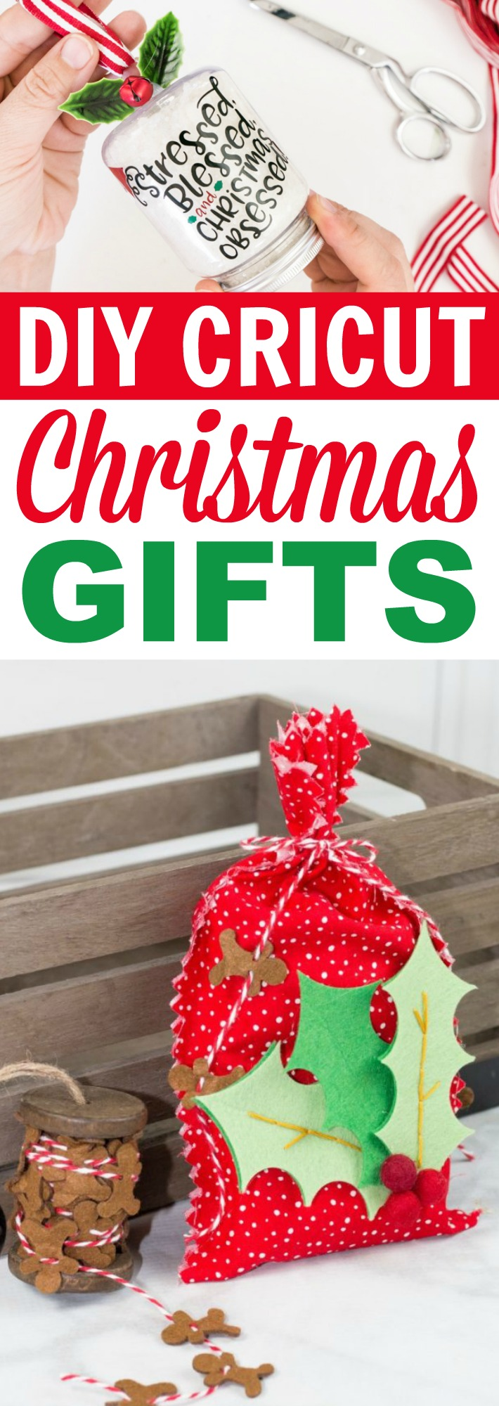 DIY Cricut Christmas Gifts - A Little Craft In Your Day