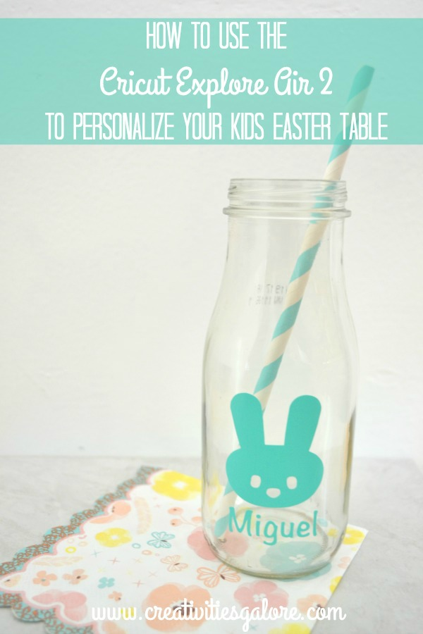 Personalize Your Kids Easter Table