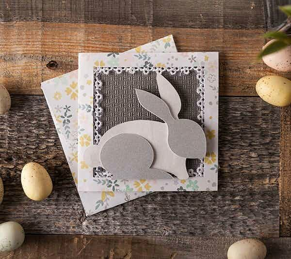 Layered Bunny Card