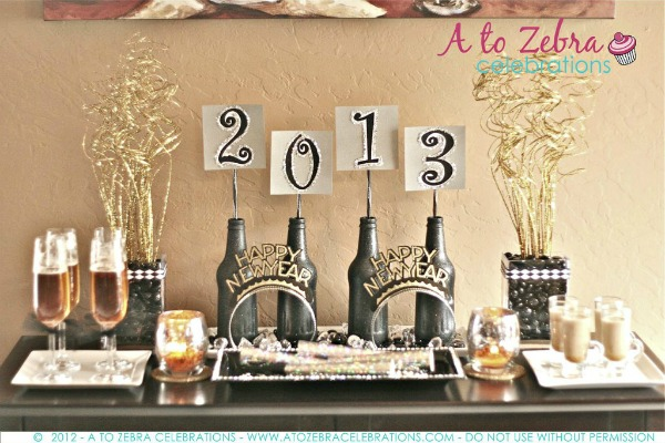 DIY New Year Home Decor - A Little Craft In Your Day