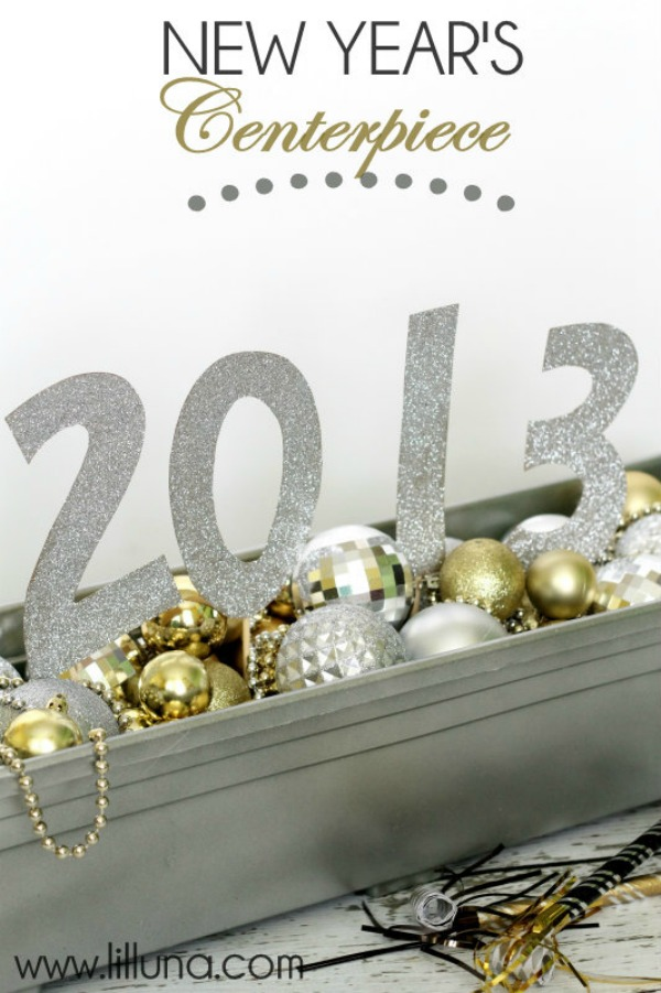 Diy New Year Home Decor A Little Craft In Your Day
