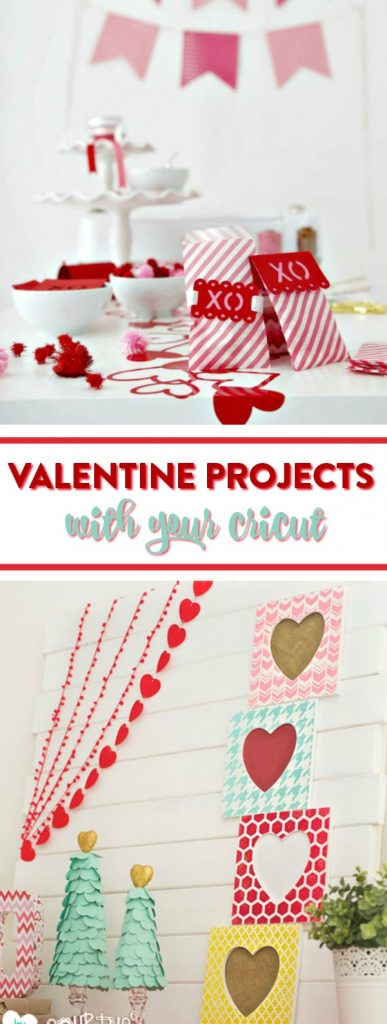 Valentine Projects with Your Cricut - A Little Craft In Your Day