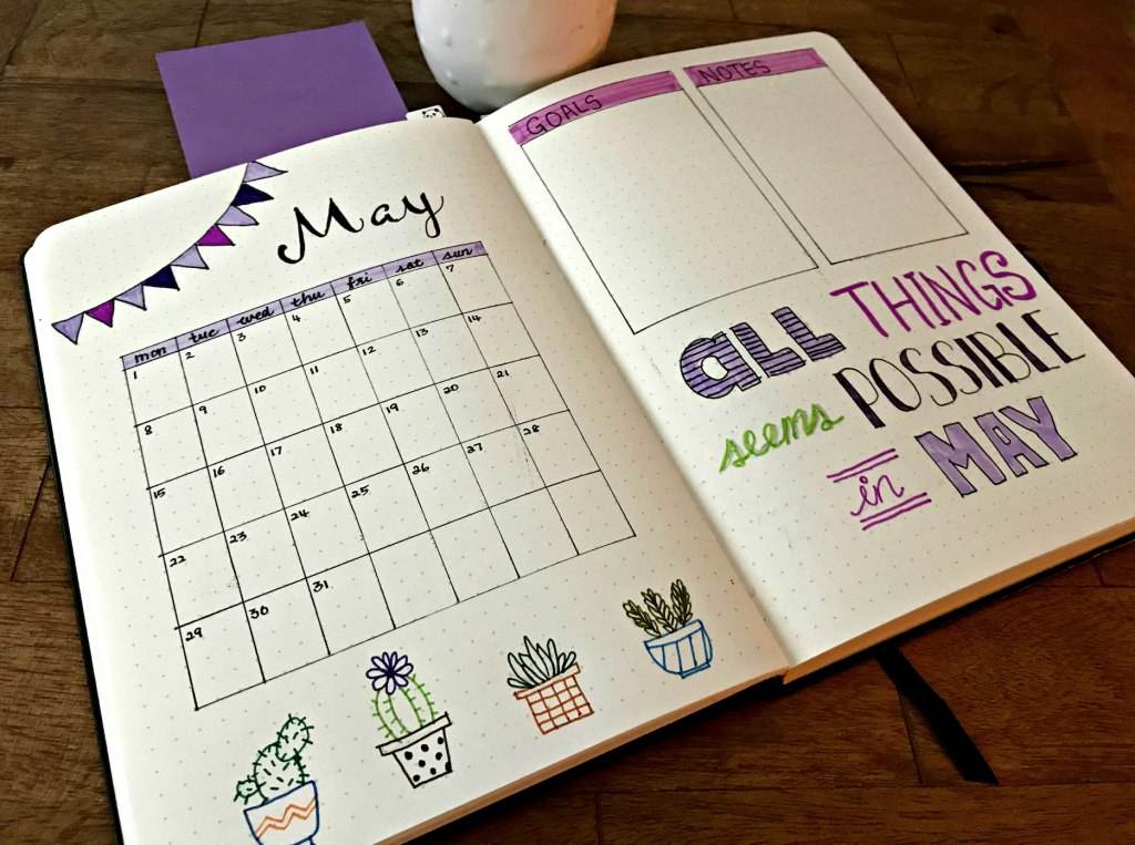 Calendar Ideas For May : Calendars that work a little craft in your day