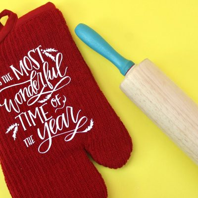 DIY Holiday Potholder – Cricut Christmas Gift Idea thumbnail