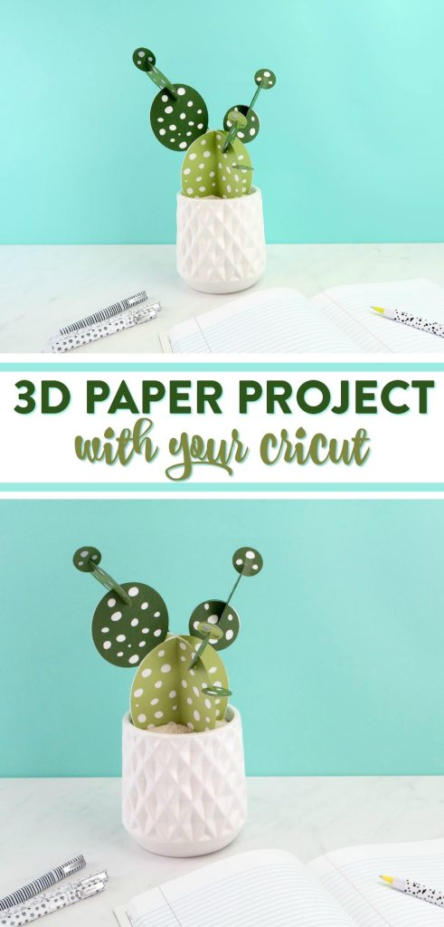 3d Paper Project With Your Cricut A Little Craft In Your Day