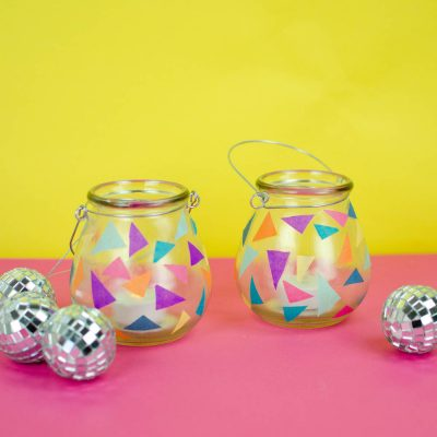 DIY Sweet 16 Party Decor- DIY Luminaries thumbnail