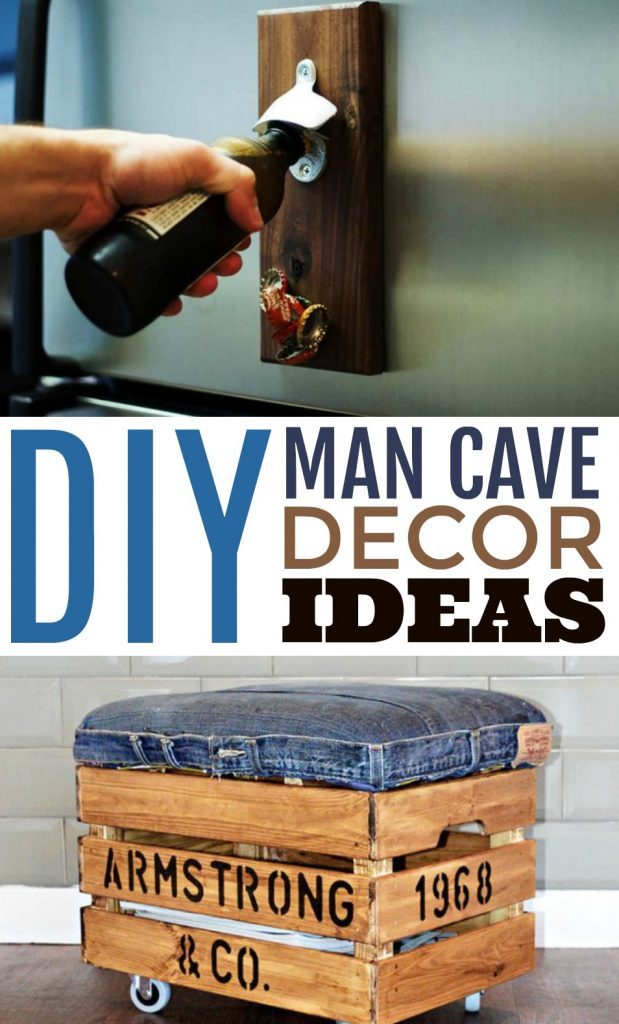 Diy Man Cave Decor Ideas A Little Craft In Your Day