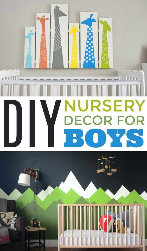 2 28 Diy Nursery Decor For Boys