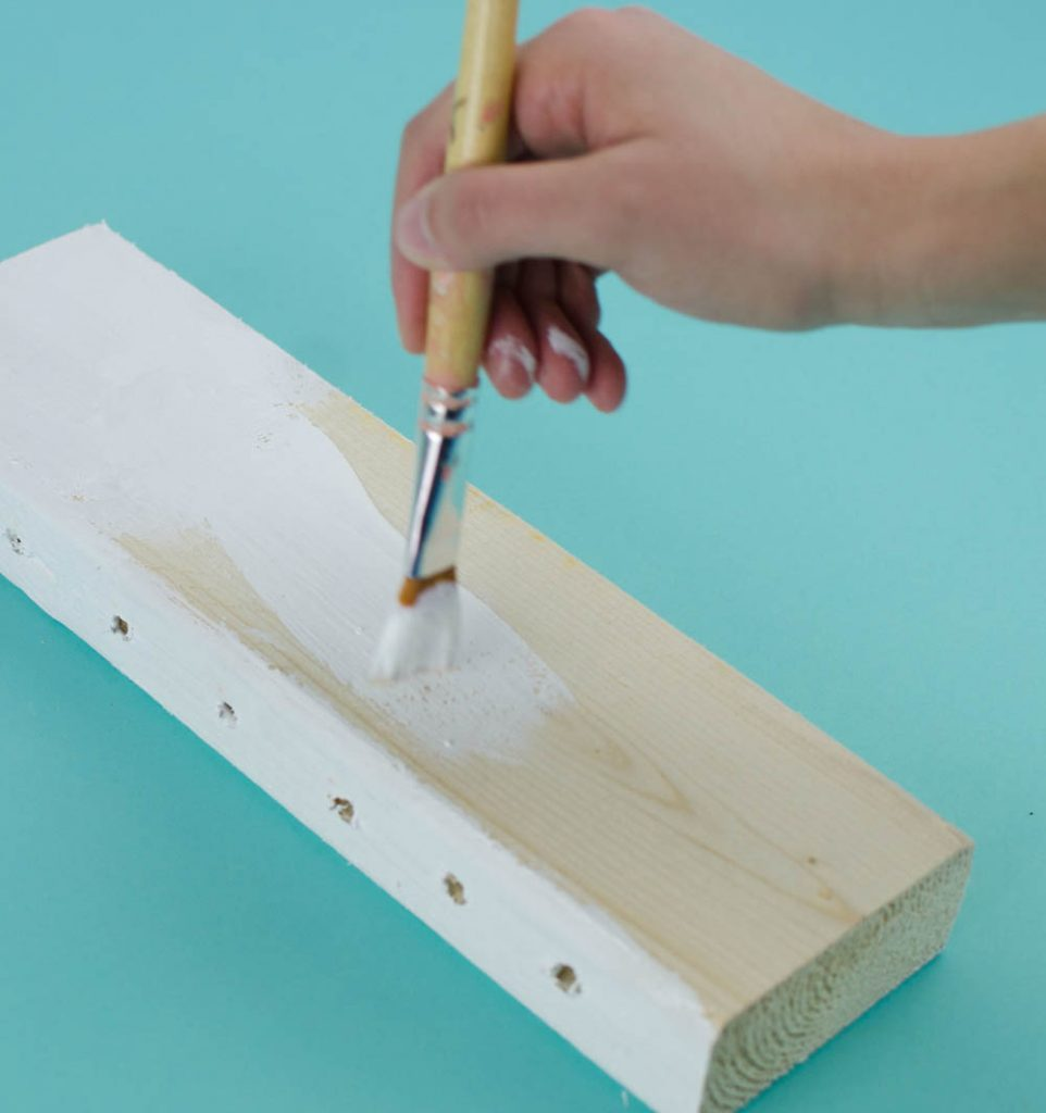 Diy 2x4 pencil holder a little craft in your day Diy pencil holder for desk