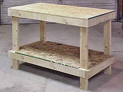 A Cheap And Sturdy Workbench