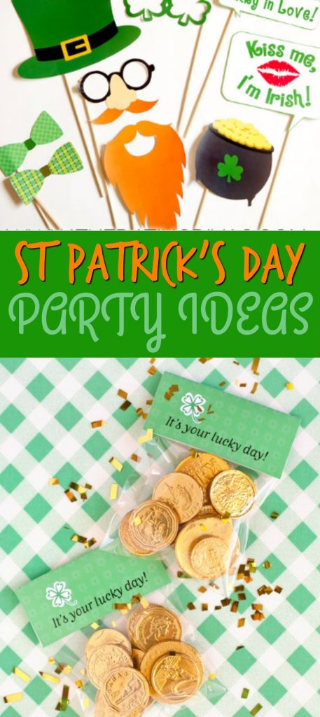 St Patrick Day Party Ideas A Little Craft In Your Day