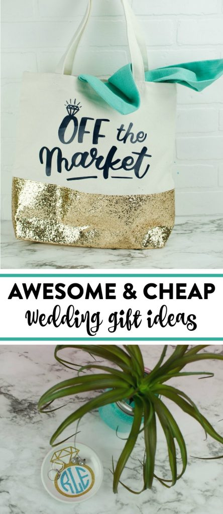 Cheap DIY Wedding Gifts - A Little Craft In Your Day