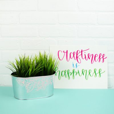 DIY Spring Decor With Your Cricut thumbnail