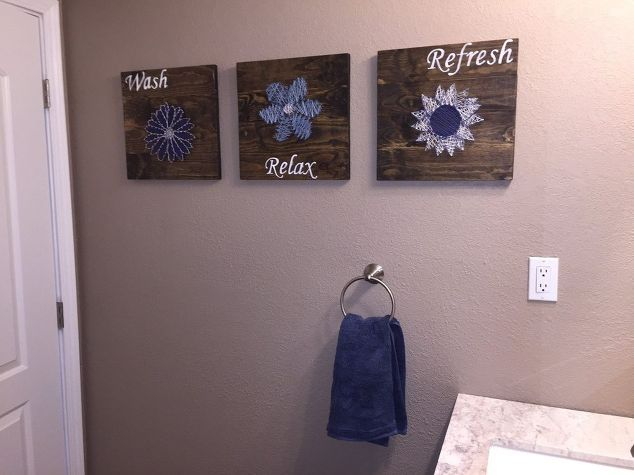 Diy Bathroom Wall Decor Ideas Easy