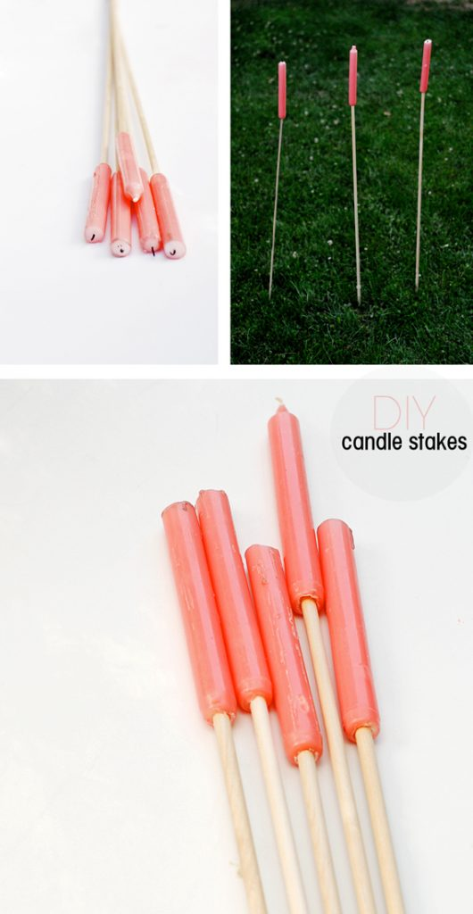 Outdoor Candle Stakes