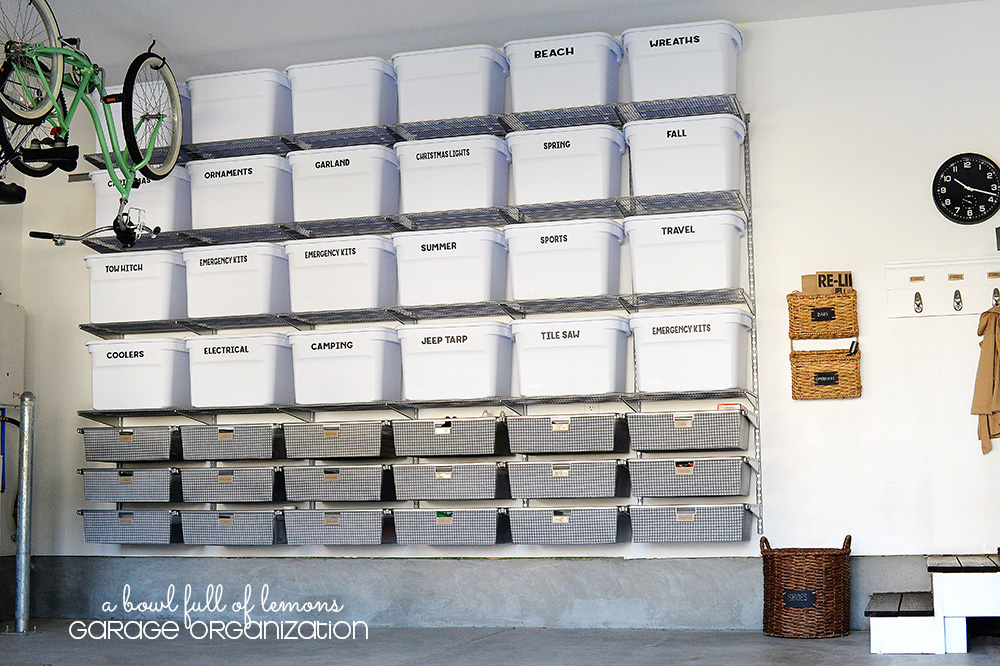 Tips For An Organized Garage