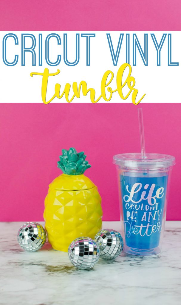 Easy Cricut Vinyl Project Diy Quote Tumblr A Little