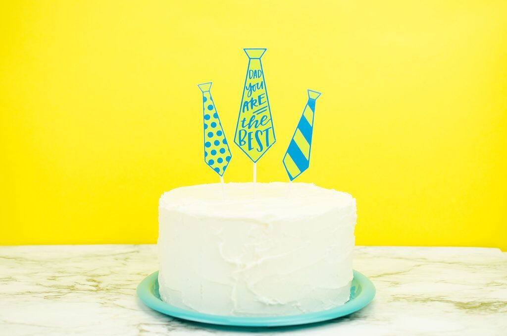 Easy DIY Father's Day Cake