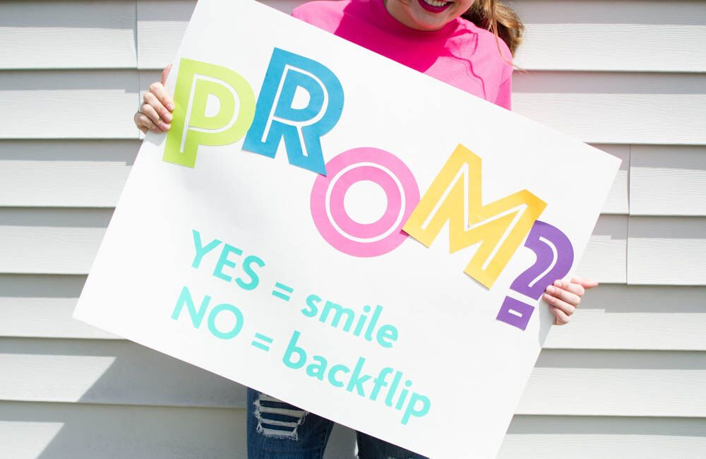 Funny Promposal- It Will Be a Flipping Good Time!