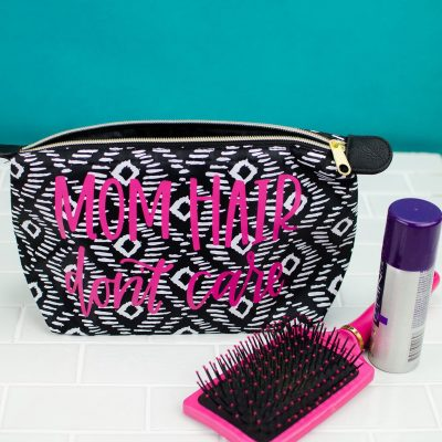DIY Personalized Toiletry Bag thumbnail