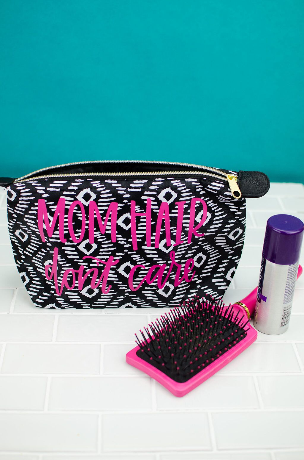 diy personalized toiletry bag a little craft in your day
