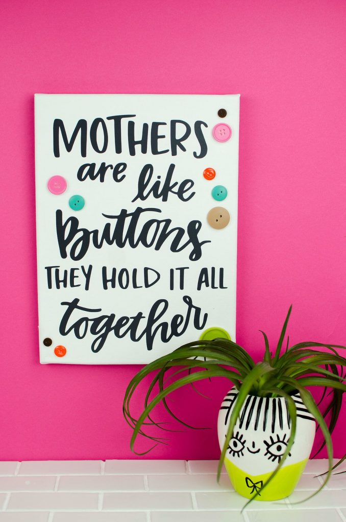 Sweet Mother's Day Quote Art